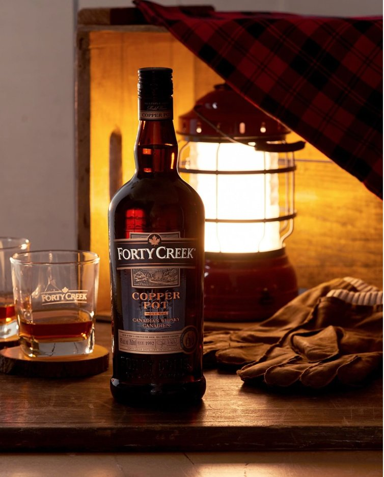 A bold whisky with intense spicy flavors resulting from higher degrees of aging in new oak.   Explore Forty Creek and the Canadian tradition here: : https://t.co/XDTaakSatX https://t.co/Qu7EdOaBQf