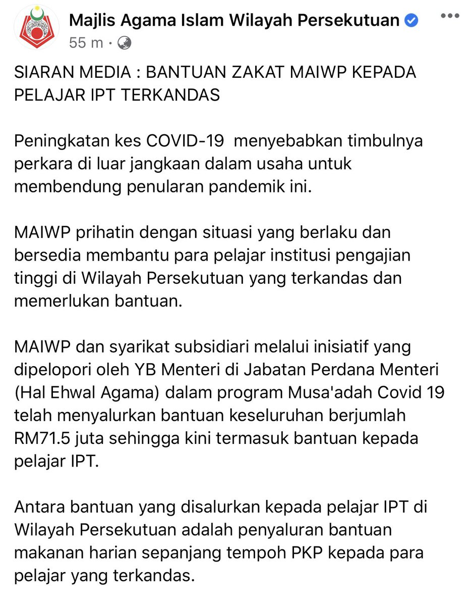 A Thread Written By Drzul Albakri Utk Sebaran Mohon Retweet