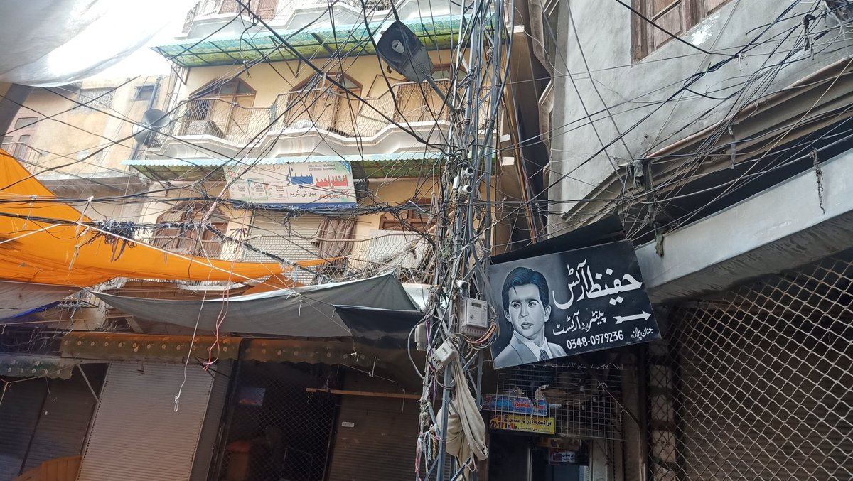 Sunday Morning from the home of legendary @TheDilipKumar, it broke my heart to see the miserable Condition of this asset. #Peshawar #DilipKumar #HomeTown
