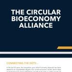 Image for the Tweet beginning: The Circular Bioeconomy Alliance established