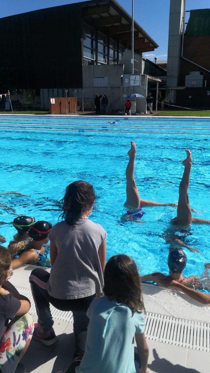 🤽♀️🏊♀️ Ahir es va celebrar el Wateroplo Fest i el Sincro Fest! Les nenes i els nens van poder gaudir d'aquests esports de la manera més lúdica i a l'hora educativa!  🙏 Gràcies a totes i tots per assistir-hi!  #CNGSincroFest #CNGWaterpoloFest #CNGranollers #Waterpolo #Sincronitzada https://t.co/q5NdWhOwa9