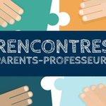 Image for the Tweet beginning: Rencontre avec les familles et