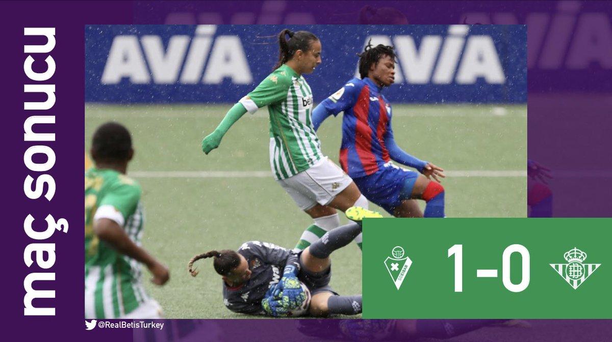 BİTTİ! | #VuelveElFutFem   #PrimeraIberdrola ilk hafta maçında Eibar'a 1-0 mağlup oluyoruz.