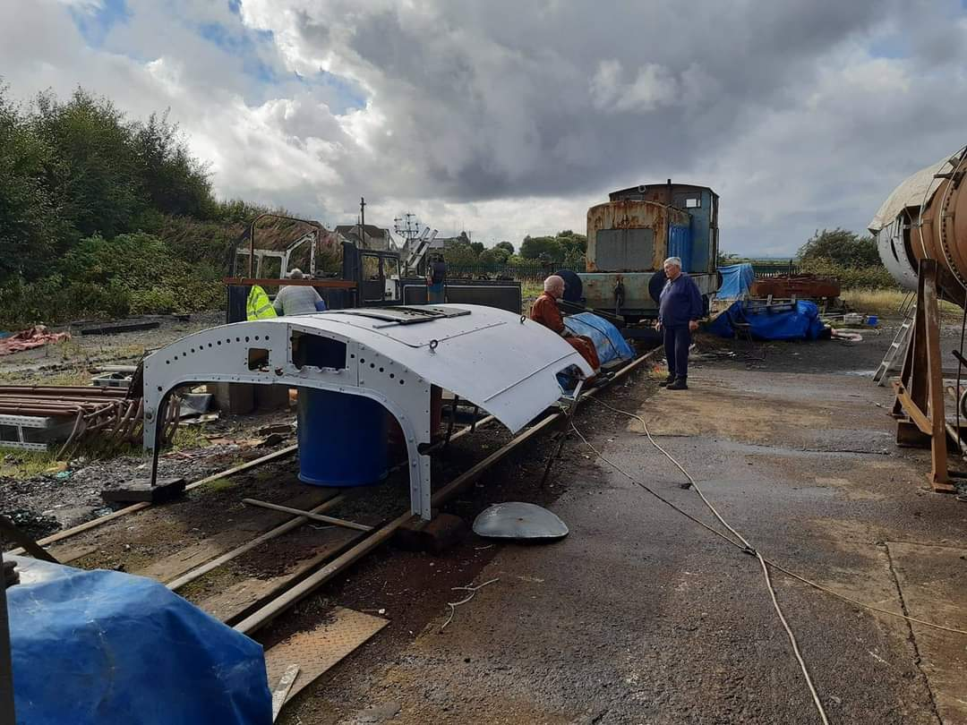 test Twitter Media - Work on BR Std 4 No. 80105 - owned by the Locomotive Owners Group Scotland is continuing.  Most of the tubes now in the boiler ready to be expanded/beaded over and repairs to the tanks/cab structures are in hand. Much of the bottom end is complete.   #SupportOurSRPS  ^JS https://t.co/TmcmCUI65m