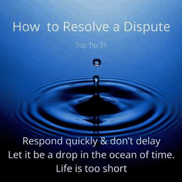 Tackling issues as they arise can save time in the long run #dispute #disputeresolution #litigation #solicitor #mediator https://t.co/OuvRU2KNRU