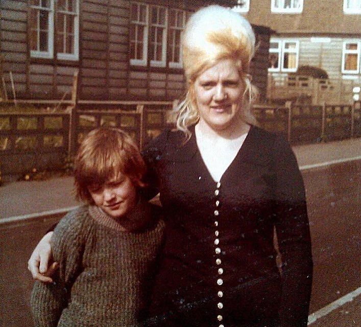 Mother and son. Ebbw Vale, 1970s. Photo submitted by Gary Jones.