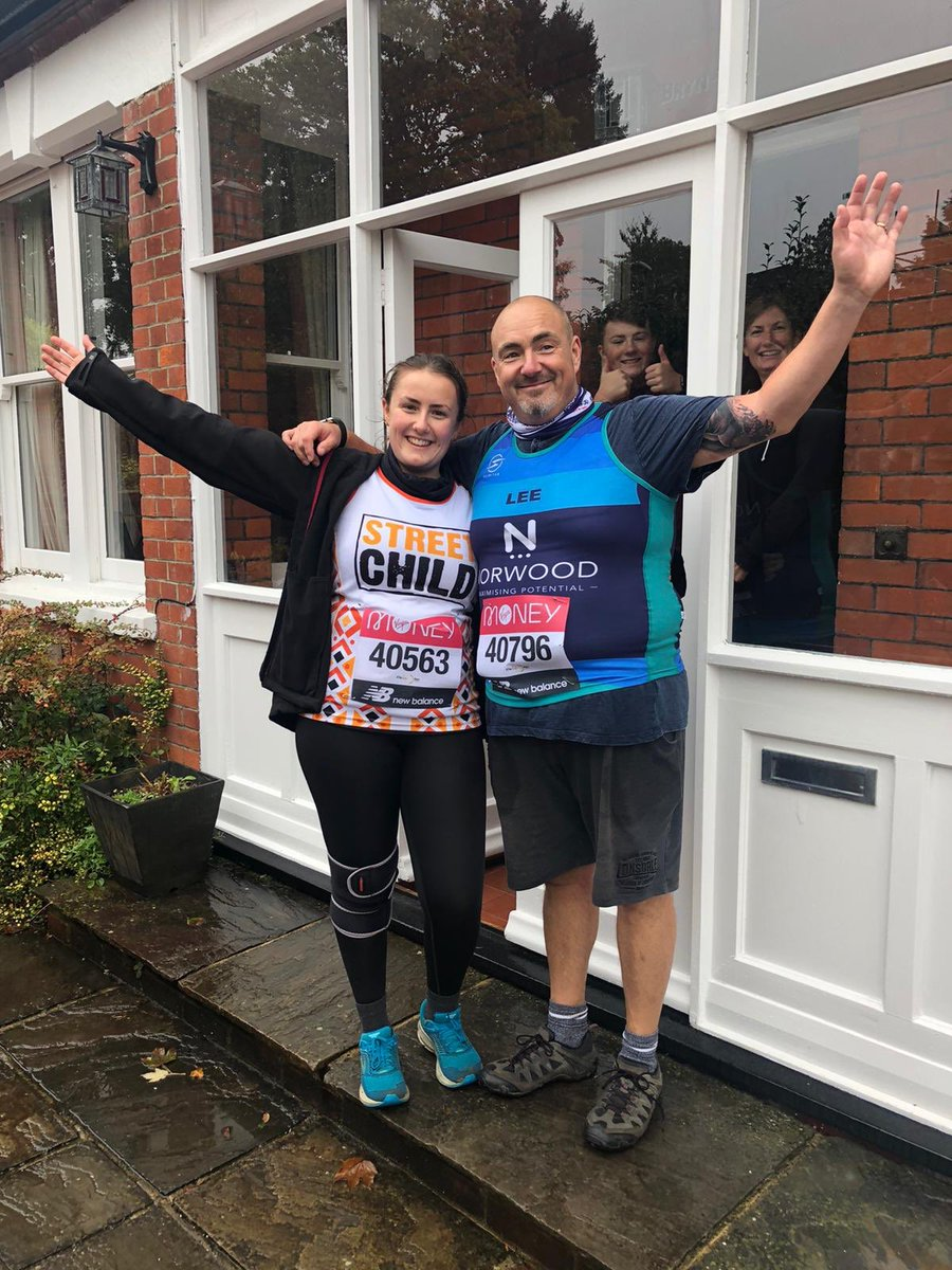 test Twitter Media - Lee Keeper of Orion Lodge in Buckinghamshire and his daughter also achieved the marathon mark today! #LondonMarathon #bucksfreemasons Well done all! https://t.co/NBQNqdQGAm