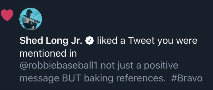 @SLONG895 liking a @dingerspod tweet... it's going to be an epic offseason for us!! 👍🏼⚾️ @tourneyboss   #BakingAndBaseball #Mariners #RecoverAndRise #dipoto