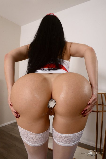 2 pic. Naughty Nurse... Check out my Brand New Anal POV Scene🔥➡️ https://t.co/p9tRoG51cr https://t.c