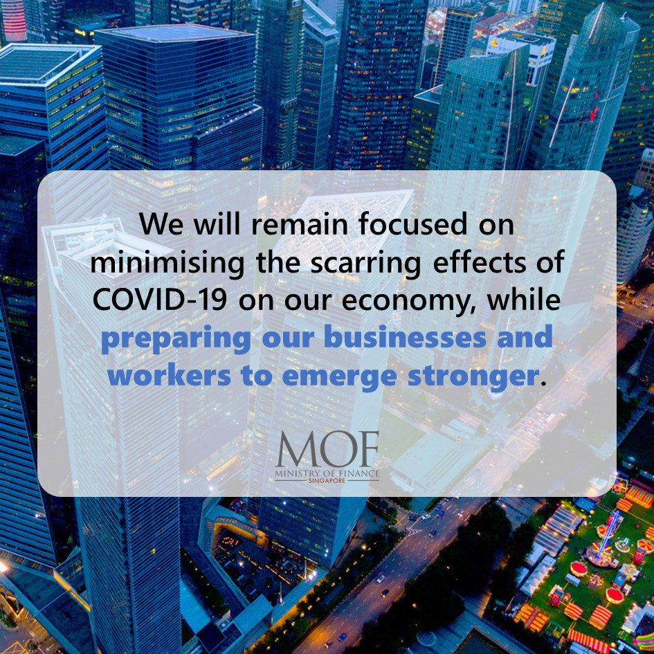 [Oct 2020 Ministerial Statement]  Our support over the four Budgets has been to minimise the scarring effects of COVID-19 on our economy, while preparing our businesses and workers to emerge stronger. Learn more below. https://t.co/bzGzRMBqXN https://t.co/KXw8Tfpqam