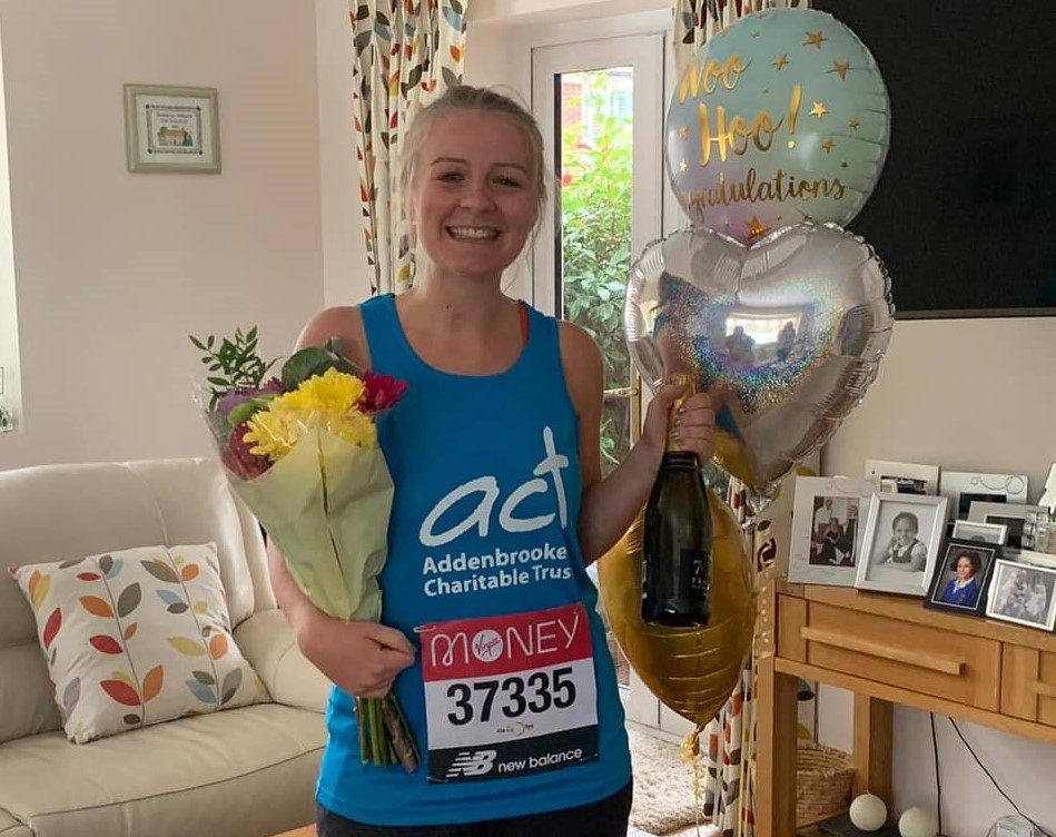 We are very proud of our Sales & Marketing Executive, Emma, who completed the Virtual London Marathon yesterday for @ACTcharity She has raised an incredible £3,438 for a cause that saved her own life 10 years ago! justgiving.com/fundraising/ru… #The40thRace