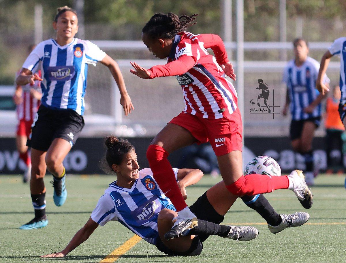 🛑 @ElbaVerges24 🔝👏 GALERÍA (+70 fotos) ➡️  . #primeraiberdrola #vuelveelfutfem #rcde #rcdespanyol #AtleticoMadrid