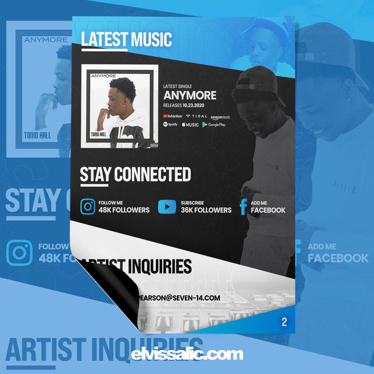 EPK PDF design for Tonio Hall  #graphicdesign #EPK #artist #producer  #music #electronicpresskit #presskit #pressdesign #photoshop #illustrator #hiphop #typebeat #creative #IndieDistribution  #IndependentArtist #MusicLife #MusicProducer #MusicianLife #MusicIndustry #MusicBiz https://t.co/rb9vIehYQ6
