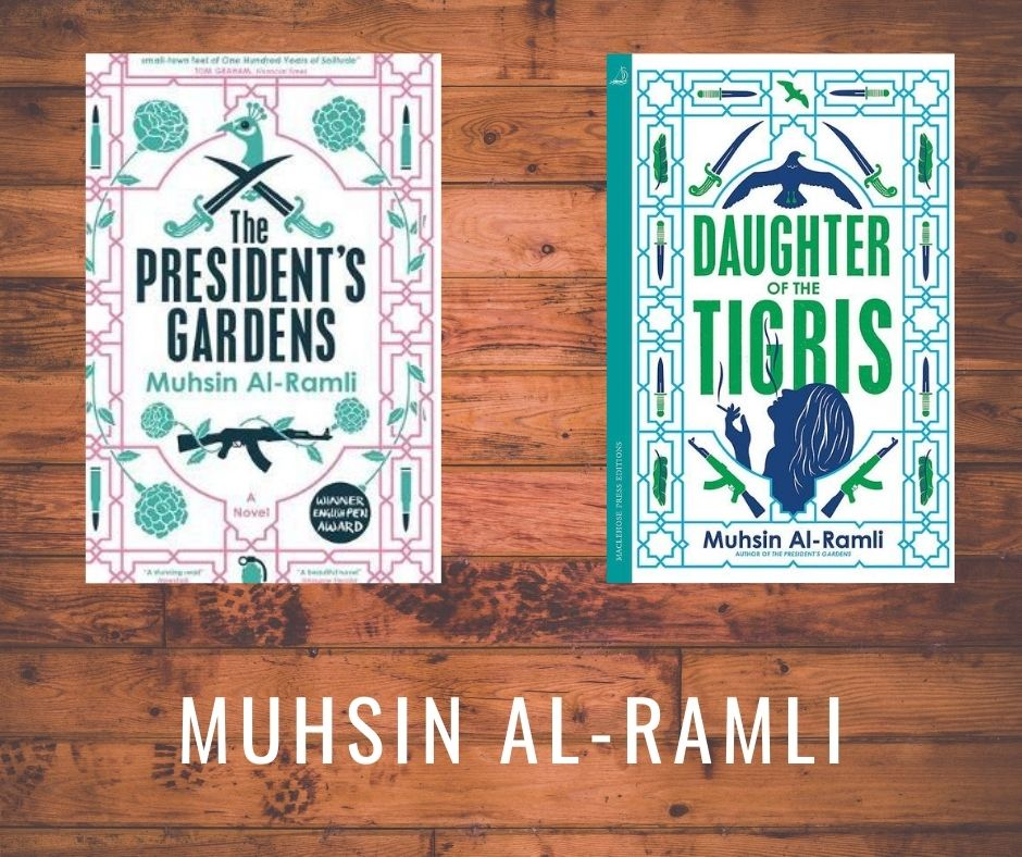Muhsin Al-Ramli is an #Iraqi writer, who was awarded the Young Writers Prize for short stories in 1988 and 1989. Muhsin Al-Ramli was longlisted for the Arab Booker Prize in 2008 and also in 2013 for The President's Gardens. His #books are available to buy from all good bookshops.