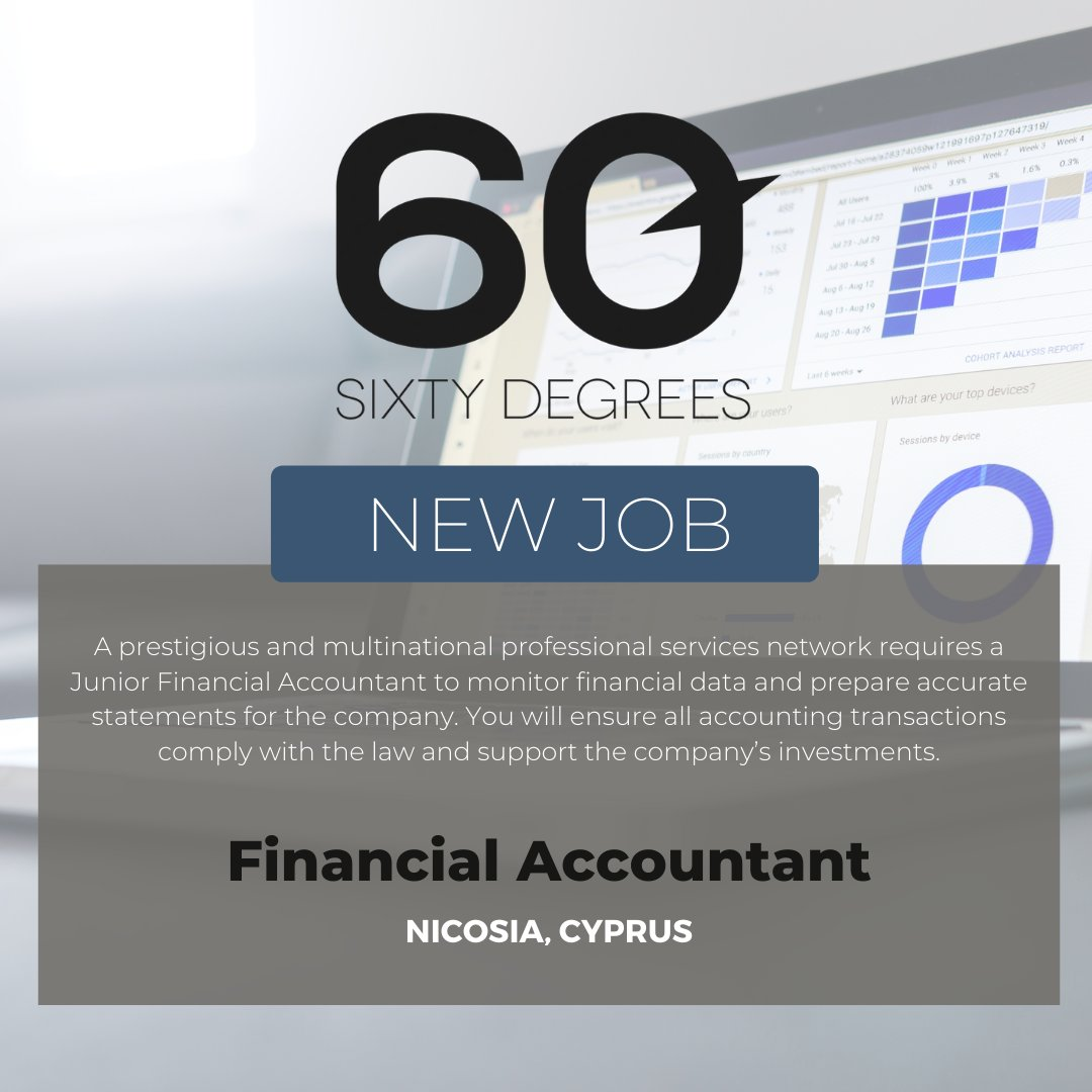 test Twitter Media - New #JobAlert - Financial Accountant - Nicosia, Cyprus  For more information & to apply, please click on the link below;  https://t.co/nrnPoJ5wHu  #60Degrees #60DRecruiter #60Droles #cyprus #financejobs https://t.co/2x7TjtAp1D