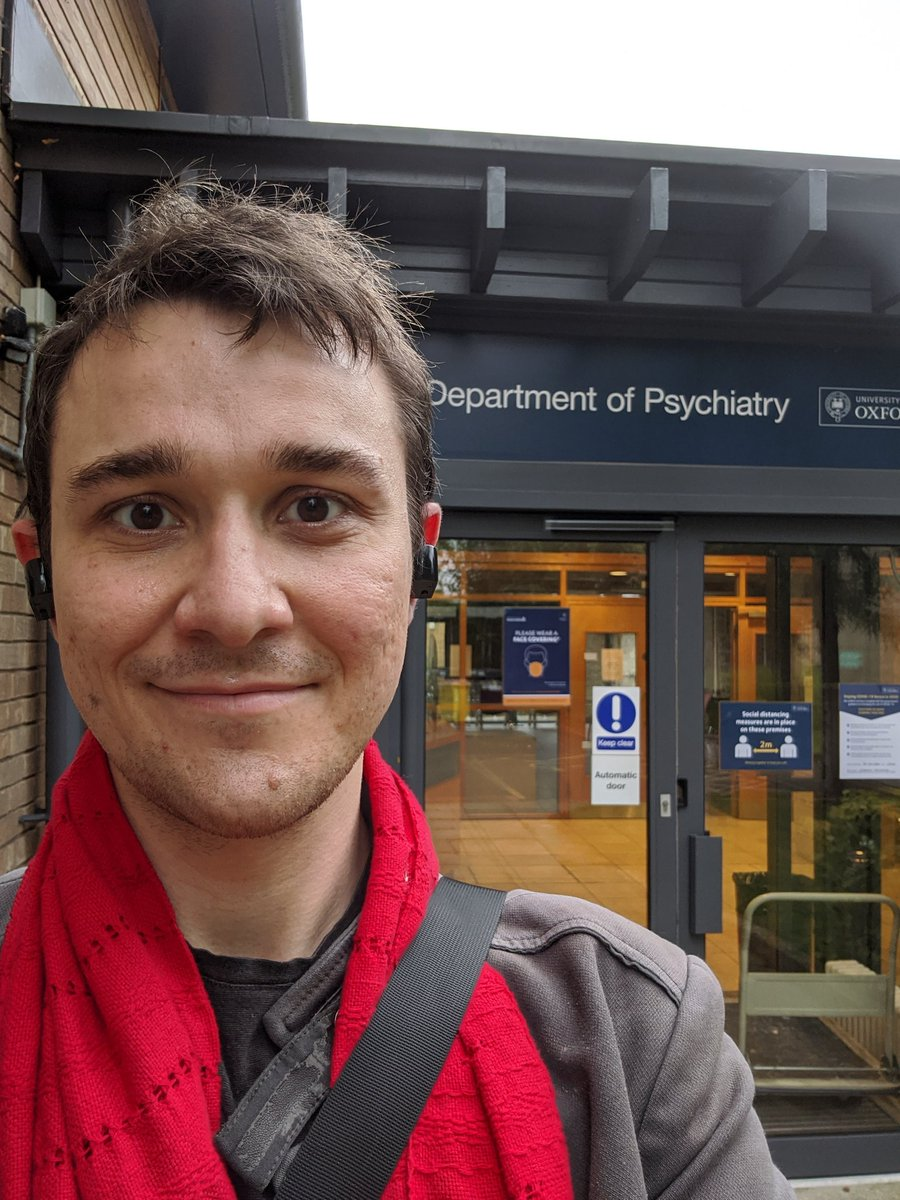 Today is the day 😄 Covid has cancelled the usual Oxford pomp and ceremony, but I am still indescribably stoked to start my DPhil today on Psychedelic Ethics @OxPsychiatry and @WEH_Oxford!  This is gonna be so much fun! :D https://t.co/1Bzz3eaf2M