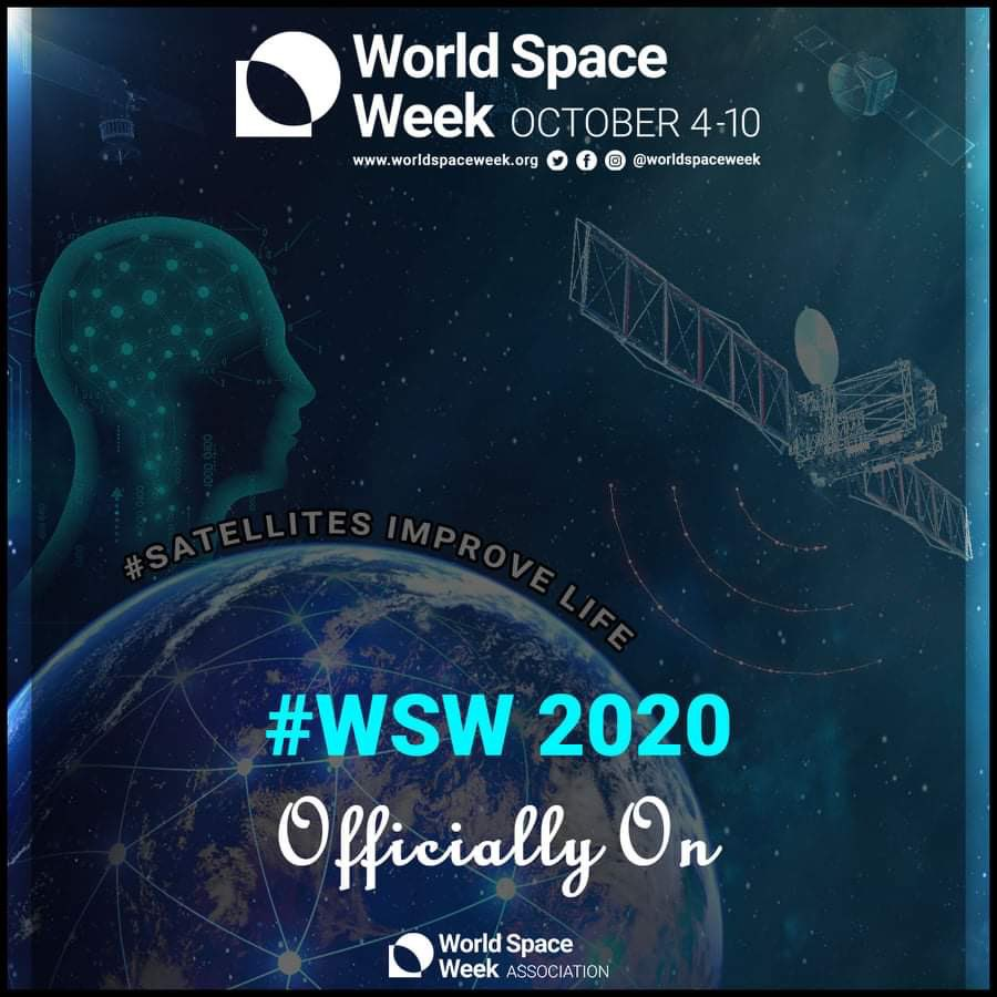 Happy World Space Week!   Check out https://t.co/74DD0HQ1Rn for a huge range of space themed events you can get involved in! #WSW2020 #WorldSpaceWeek