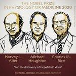 Image for the Tweet beginning: BREAKING NEWS:  The 2020 #NobelPrize