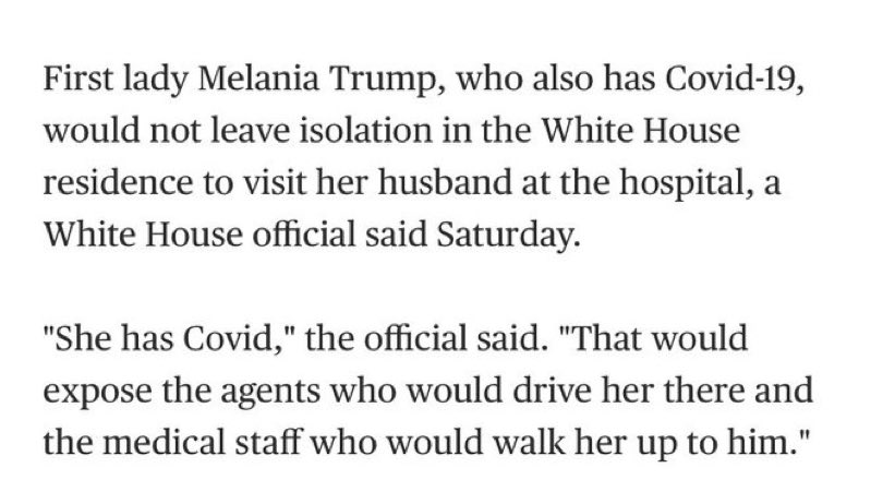 Brendan May On Twitter Perhaps She Should Explain It To Him Trumphascovid Trumpjoyride Coronavirus