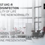 Image for the Tweet beginning: DURST UVC-R AIR DISINFECTION -