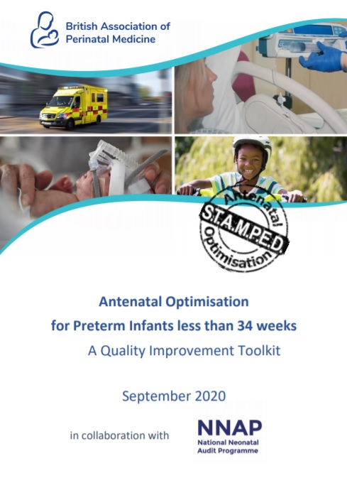 The BAPM and @NNAP_RCPCH Antenatal Optimisation for Preterm Infants less than 34 weeks QI Toolkit is available to download now. This toolkit supports implementation of the key elements of Antenatal Optimisation.  Start your QI journey today.  https://t.co/keHXHAMQIh #AOToolkit https://t.co/AaJRMpQr6e