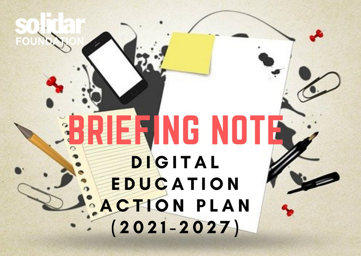 2020 under review: on #WorldTeachersDay we released SOLIDAR Foundation´s take on the EU #Education Area & #DigitalEducation Action Plan update 👇🏿👇🏻