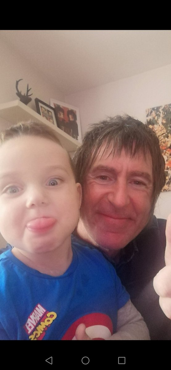 "Happy Monday folks wasn't gonna mention this but a few friends said I should.. Today I go into hospital to donate 1 of my kidney""s too this little monster Alfie (my grandson)..The operation is tomorrow so please keep your fingers crossed🤞for the both of us all goes well.. ✌️😁"