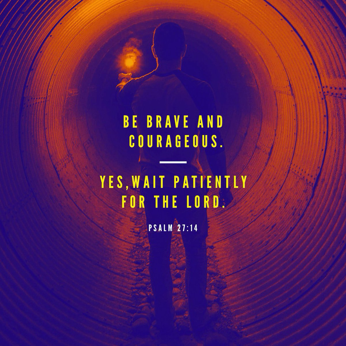 Today is the perfect day to practice patience by being brave, courageous, and confident. #LoveWell