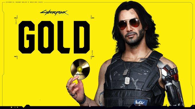 cyberpunk 2077 gold