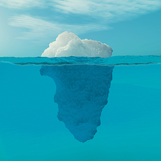 To promote consideration, draw an iceberg - niswc.com/16jIC324971 #SPSParentTips #BuildingTheBestSPS