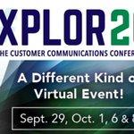 Image for the Tweet beginning: TOMORROW: #Xplor20 @JoanneGore121 presents :
