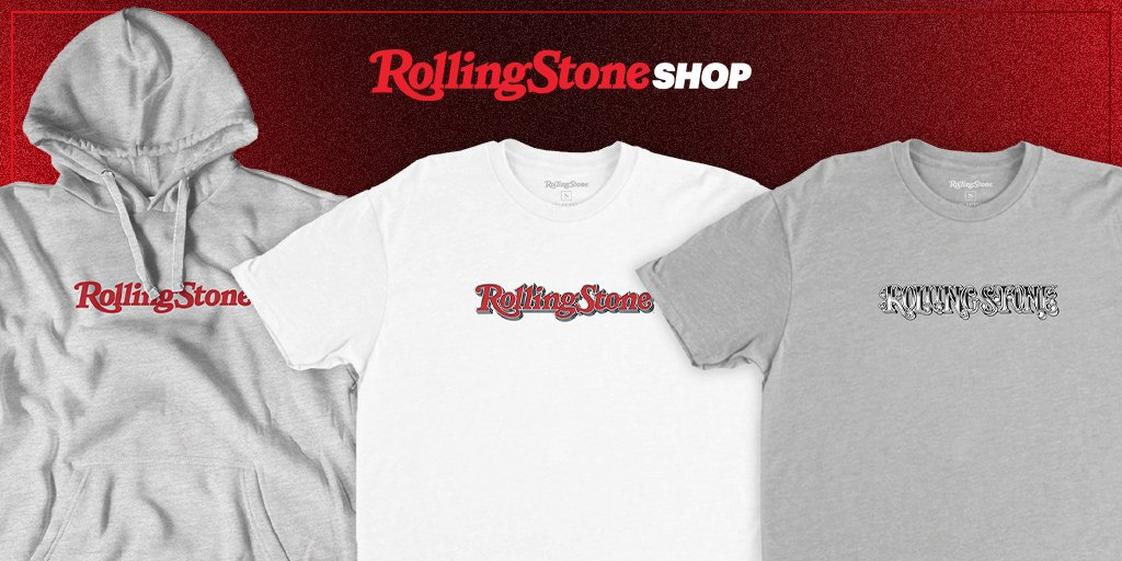 From our first logo to our most famous to our redesign, take a trip through time with the 'Rolling Stone' logo collection. Shop it here:  #RollingStoneShop
