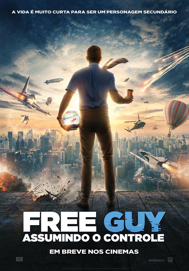 Free Guy - Assumindo o Controle | Comédia com Ryan Reynolds tem novo  trailer divulgado - Cinema com Rapadura
