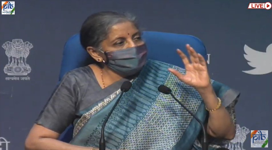 .@GST_Council has taken up the long-pending issue of Integrated Goods & Services Tax ; earlier there was no formula for devolution of IGST, which had resulted in several anomalies in its distribution - FM @nsitharaman during media briefing on outcome of 42nd GST Council meeting