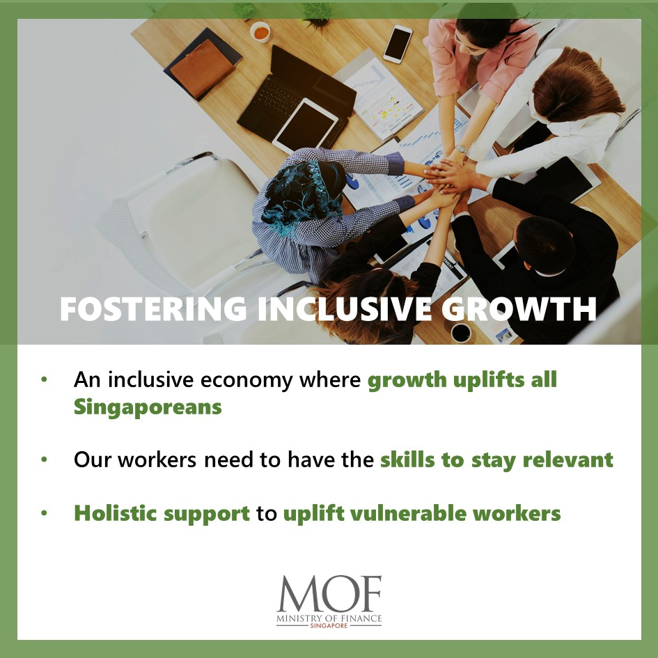 [Oct 2020 Ministerial Statement]  Our aim is not just to grow a vibrant, innovative economy, but an inclusive economy, where growth uplifts all Singaporeans. To achieve so, we need to equip workers with relevant skills and provide holistic support to uplift vulnerable workers. https://t.co/VLALZtJkEc