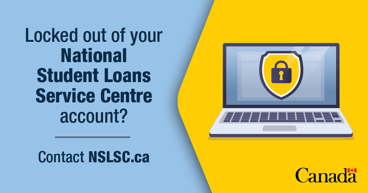 Employment And Social Development Canada On Twitter Canada Student Loan Borrowers To Better Protect Your Personal Information The Nslsc Has Added Additional Security Measures Have You Forgotten The Answers To Your