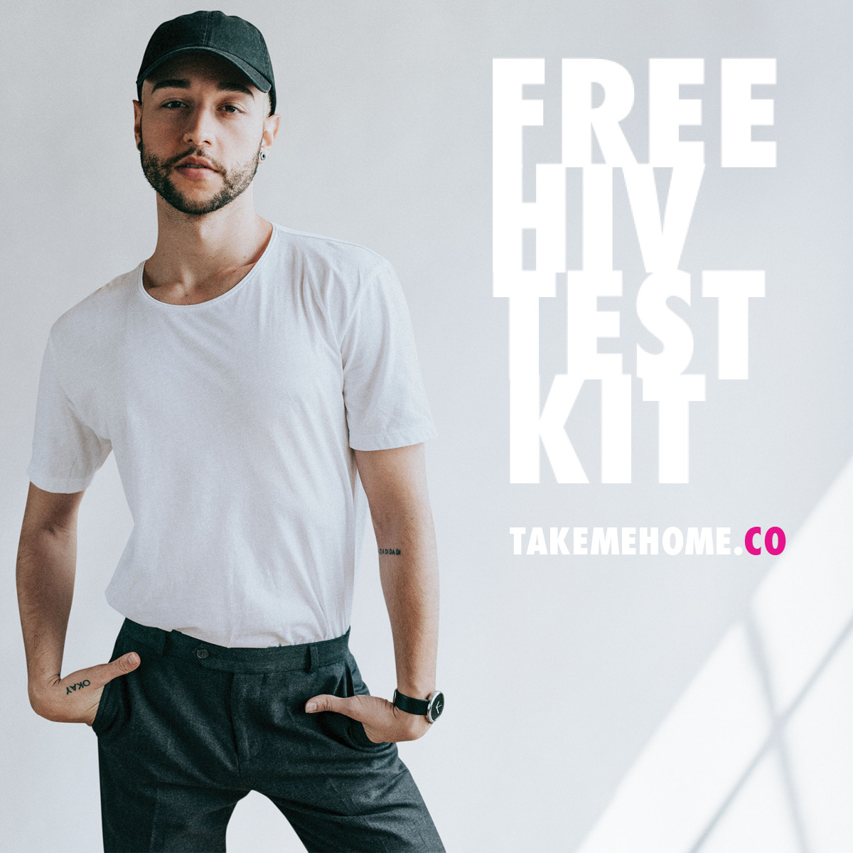 Want to get tested for HIV, but uncomfortable going to a clinic? Test yourself at home with TakeMeHome, a free program that delivers HIV self-tests directly to you. Sign up at  to get your free kit.  #freetesting #gettested #HIV #Iknowmystatus