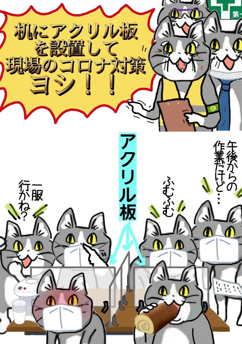 ここだけの話、どれだけ効果あるのか自信ない #現場猫