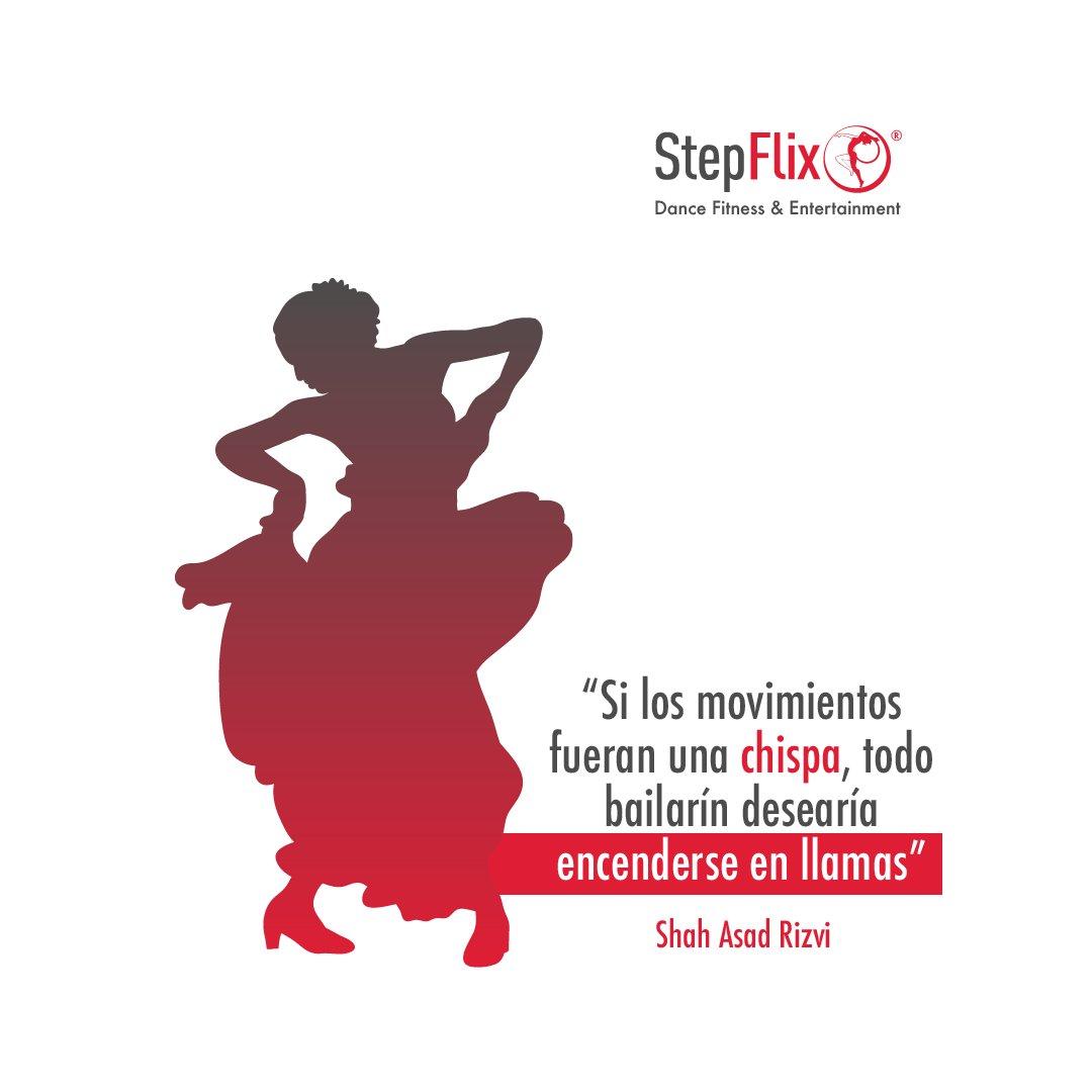 🔥 Enciende la llama flamenca que hay en ti! Regístrate ya a la clase de Flamenco en vivo con Ania este 11 de octubre: https://t.co/oxIyhviucB 👈🏻💃  #StepFlix #frasesinspiradoras #MotivationalQuote #QuotesForLife #QuotesLover #FrasesMotivacionales https://t.co/cse9nHw2b6