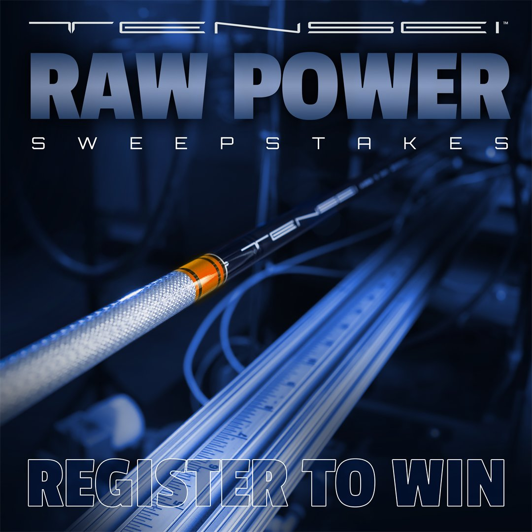 Register to win a TENSEI™ AV RAW Driver Shaft Upgrade, 3-Wood Shaft, and Driver Shaft Consultation with a MCA Tour Rep.  Click below to register and for complete contest terms.  https://t.co/wNEpNbJNVs  #TENSEI #MitsubishiChemicalGolf #WinCount #PoweredByMC #Golf #GolfShafts https://t.co/dgmi2HJwnP