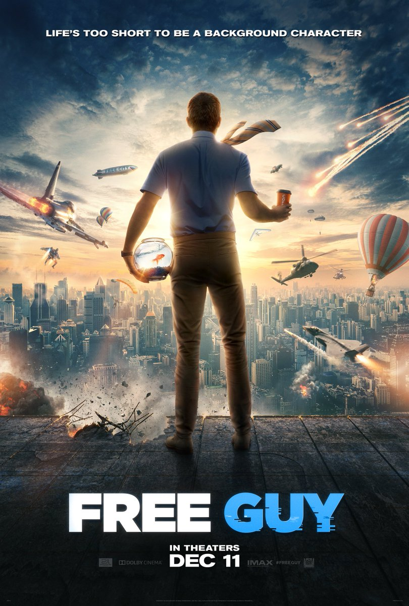 Walt Disney Company On Twitter A New Trailer And Poster For 20th Century Studios Upcoming Feature Film Free Guy Debuted Today Https T Co Vijbm2wryg Https T Co Csx6gorzus