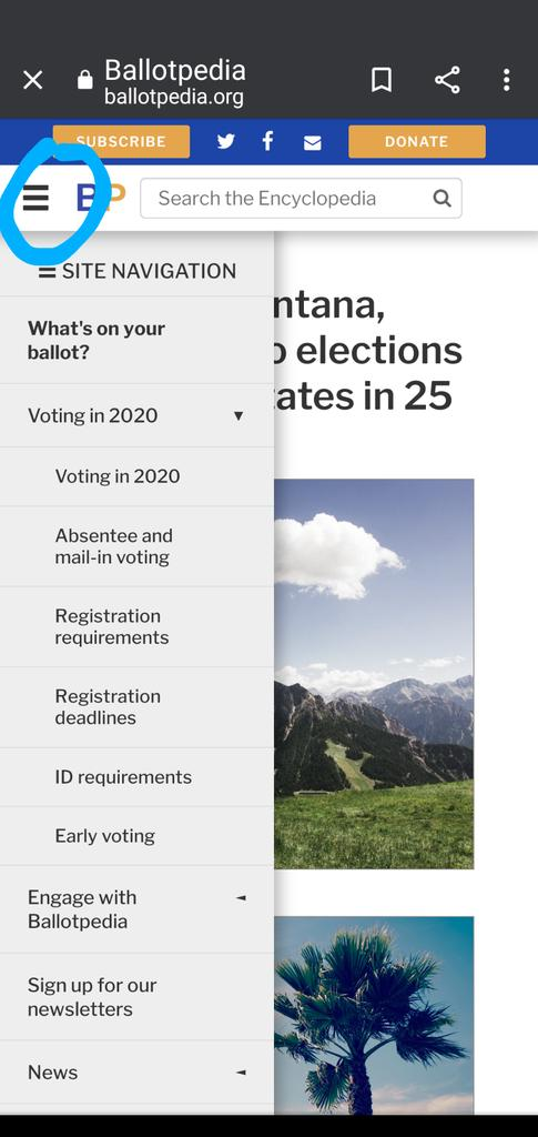 Still not registered to vote? You still have time. But today is the last day to register in some states. You can find out everything you need to know about your states voting requirements at ballotpedia.org click menu bar and get into it!