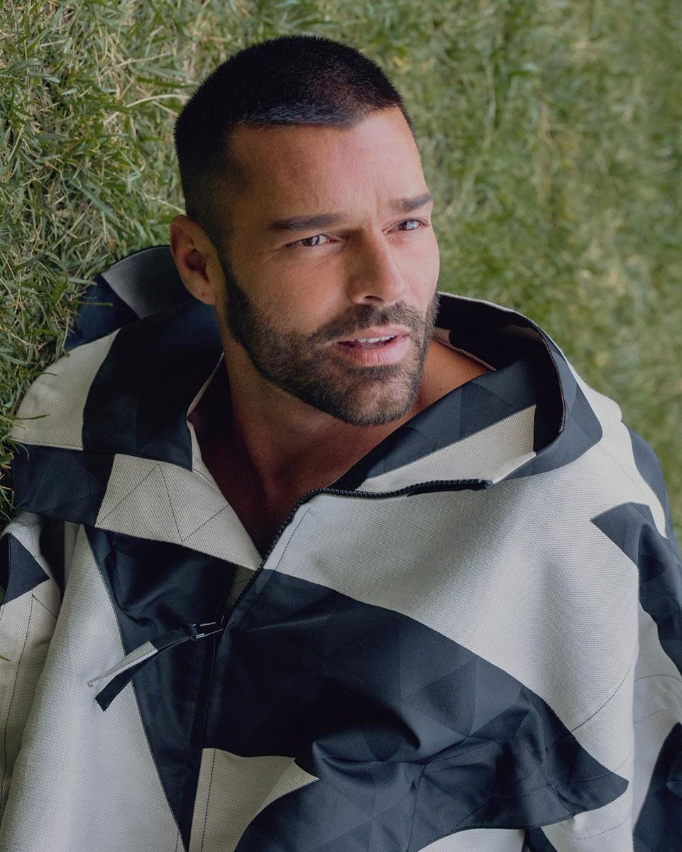 #Repost @vmagazine  HEROES ⭐️ RICKY MARTIN From the pages of V126, our latest fall issue, comes the next installment  @ricky_martin Photography: @KalebMarshall Fashion: #dvlstylist Art Direction: #gabrielebaldotto [Image 2] Ricky Martin wears coat @isseymiyake