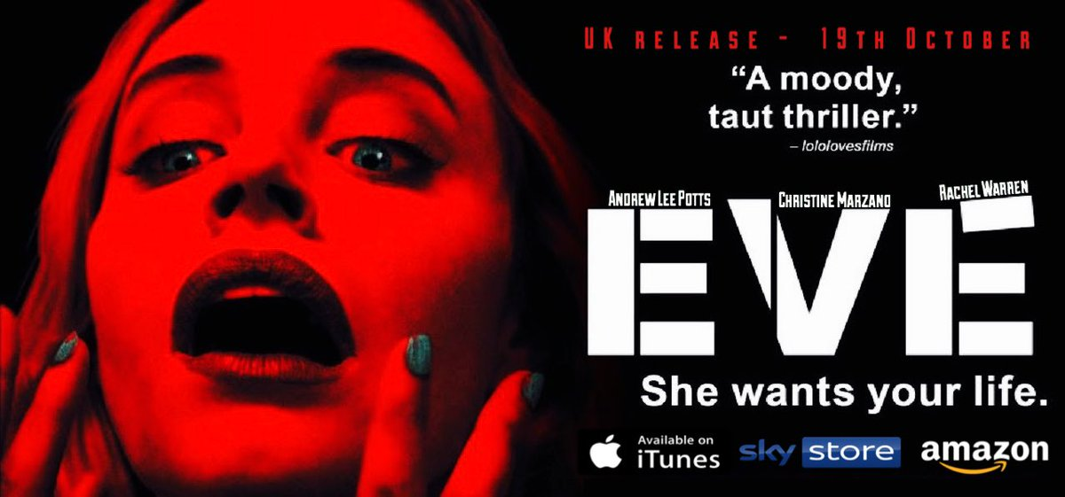 Eve Movie - Available in UK - 19th October:) Thriller Movies Series youtu.be/OGMk_kCQSb8 via @YouTube