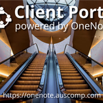Image for the Tweet beginning: OneNote powered Client Portal.  #clientportal #clie...