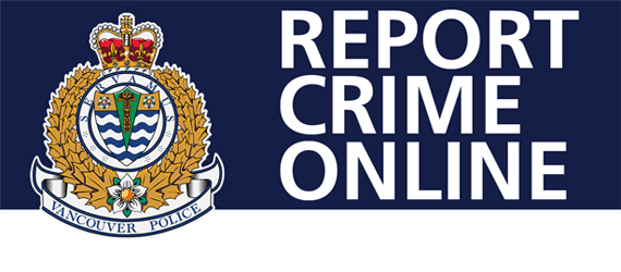 Vancouver Police On Twitter Dyk You Can Report Crime Online It Is A Faster And More Efficient Process To Report Non Emergency Incidents Identity Fraud And Stolen Property Valued Under 10 000 Are Just