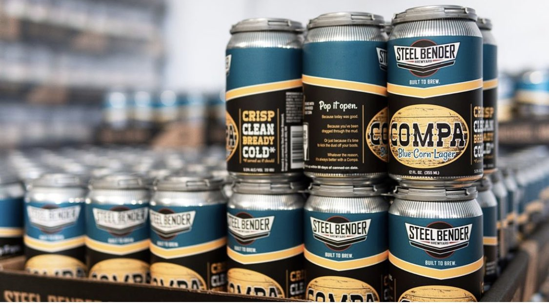 Got the Monday blues?  We've got a beer for that.  COMPA Blue Corn Lager.   Crisp. Clean. Brewed with #NewMexico blue corn.  #builttobrew #COMPA #lager #NMcraftbeer #craftbeer https://t.co/Jhy1i8RPAg