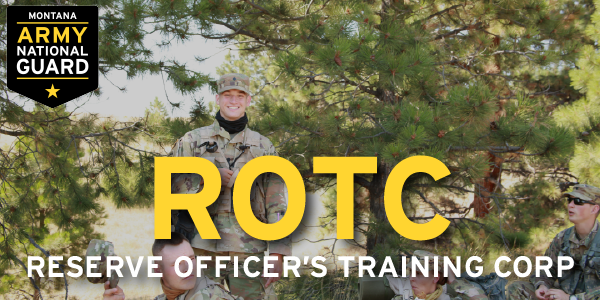 The #ROTC program is just another tool that Montana Army National Guard Soldiers can use gain additional education money.  If you have any interest in becoming an Officer in the #military, check out  to learn more about ROTC!