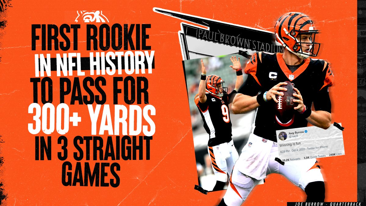 Replying to @Bengals: Joe is good.