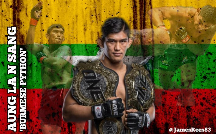 To celebrate the return of @AungLANsang at @ONEChampionship Inside the Matrix, I thought I'd put together this little piece welcome back Aung #WeAreOne https://t.co/nWWzJloCPP